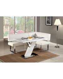 Linden Collection LINDEN NOOK SET Dining Room Set With Table And Nook In