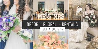 Toronto Wedding Decor Event Rentals Florist