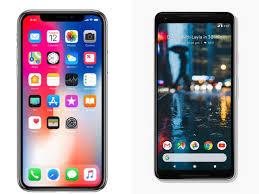 Apple iPhone X Google Pixel 2 Here Are The Best Smartphones of