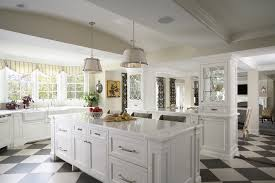 drum pendant lighting kitchen traditional with black and white
