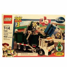 100 Garbage Truck Tab LEGO Toy Story Getaway 7599 Bent Boxes New Retired EBay