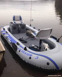 Intex Excursion 5 Floor Board by Transform An Inflatable Raft Into A Practical Fishing Boat
