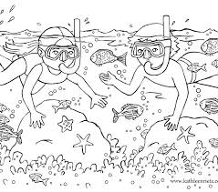 Summer Coloring Sheets For Preschoolers Preschool Fun Pages Printable Colouring Kids Color Books Unique