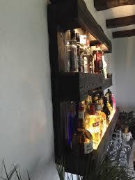 palette bar regal flaschenregal mit led 39 s in