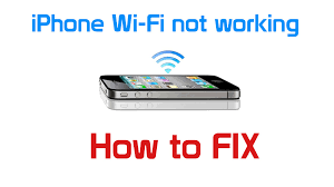 iPhone not connecting to wi fi problems with wifi password and