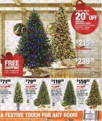Home Depot Ge Pre Lit Christmas Trees by Home Depot Black Friday Ad 2017