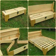 Build A Picnic Table Out Of Pallets by How To Make A Diy Bench That Folds Into A Bed Perfect Space And