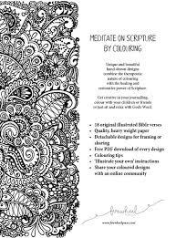 Meditations Adult Colouring Book
