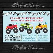 Monster Truck Birthday Invitation, Truck, Racing, Car, 2, 3, 4, 5 ... Birthday Monster Party Invitations Free Stephenanuno Hot Wheels Invitation Kjpaperiecom Baby Boy Pinterest Cstruction With Printable Truck Templates Monster Birthday Party Invitations Choice Image Beautiful Adornment Trucks Accsories And Boy Childs Set Of 10 Monster Jam Trucks Birthday Party Supplies Pack 8 Invitations