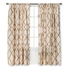 metallic curtain panel threshold target