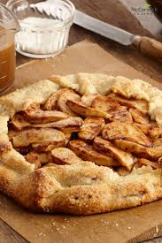 No Pie Plate Needed For This Free Form Apple Tart Recipe A Twist On
