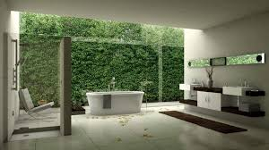 Simple Open Plan Bathroom Ideas Photo by Modern Outdoor Shower Ideas For Open Plan Bathroom Design With