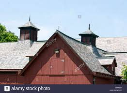 Roof Of Old Barn With Cupolas And Dormer Stock Photo, Royalty Free ... Hand Crafted Custom Builtin Bookcases And Old Barn Wood Ceiling As Countys Old Barns Chimneys Vanish So Do Birds That Do It Again February Projects Barn Door Trying To Figure Out What I Want With It Restoration What Would You With An Open The Queso At High Point Farms Exterior Rustic Bride Yourself Birch Plywood Was Used To This Limited Budget Renovation Of 34 Best Tin Projects Images On Pinterest 269 Barns Country