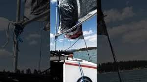 My West Potter 15 When I Made Own Mast And Sails