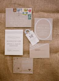 Madeline Joshs Rustic Kraft Paper Tennessee Wedding Invitations