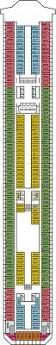 Carnival Valor Deck Plan 2014 by Carnival Splendor Tours On The Ship Splendor Prices And