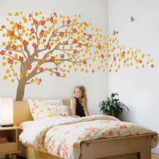 kirschblüte baum wand aufkleber für kindergarten prinzessin mädchen schlafzimmer wand große baum mit blumen wand aufkleber a396