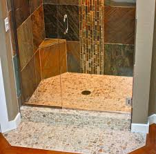 bathroom wonderful small glass stall shower with square