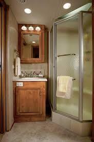 2011 Monaco Cayman Luxury Motorhome Bathroom