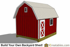 10 X 16 Shed Plans Gambrel by 10x16 Gambrel Barn Shed Plans 10x16 Barn Shed Plans