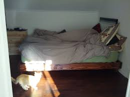 Make Queen Platform Bed Frame by 59 Best Furniture Images On Pinterest Wood 3 4 Beds And