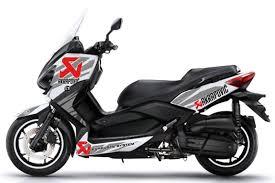 x max pot akrapovic kit déco xmax 2015 evolis akrapovic