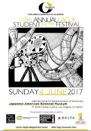 Student Film Festival Last June 2017 10th Annuan SFF Full Poster