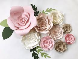 Paper Flower Wall Decor Large Backdrop By PaperFlora
