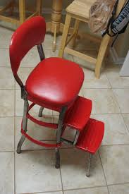 Cosco Counter Chair Step Stool by Cosco Step Ladder Chair Restoration Visual Engineering