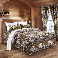 Amazon The Woods White Camouflage Queen 8pc Premium Luxury