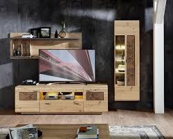 living concept unidad de pared madera ii de 3 piezas madera