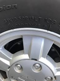 Chevrolet Colorado Questions - What Is The Largest Size Tire/chrome ...