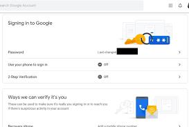 Best Way To Change Your Gmail Password  June 2019