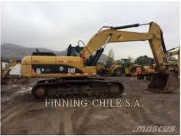100 Caterpillar Chile Used 329DL Crawler Excavators Year 2012 Price 124000