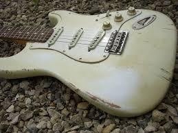 Vintage Relic Guitar Repair Restore Respray Refinish Nitro Cellulose