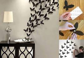 Paper Butterfly Wall Decor DIY Art Projects