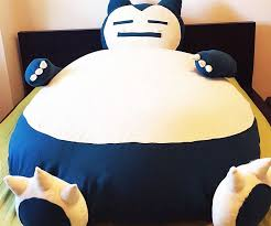 Giant Snorlax Bean Bag