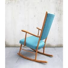 RESTORED Vintage Rocking Chair 1960s / NEW UPHOLSTERY / Solid Beech Wood  And New Water Blue Velvet Fabrics / Lounge Chair / Reading Corner Pair Of Bentwood Armchairs By Jan Vanek For Up Zvody 1930s Antique Chairsgothic Chairsding Chairsfrench Fniture 1930s French Vintage Childs Rocking Chair Roberts Astley Anyone Know Anything About This Antique Rocking Chair Art Deco Rocking Chair Vintage Wicker Child Beautiful Intricate Detail White Rocker Nice Bana Original Fabric Great Cdition In Plymouth Devon Gumtree Wallace Nutting Turned Slatback Armed Thonet A Childs With Cane Designer Lee Woodard 595 Lula Bs Rare Fully Restored Bana Yeats Country