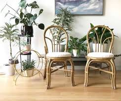 Frankl Style Vintage Rattan Furniture For Sale Pretzel Chair In The Paul