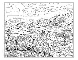 Smoky Mountains Coloring Pages Ideas