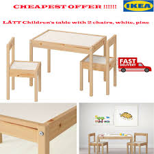 IKEA LÄTT Children's Wooden Table & 2 Chairs Kids Bedroom Furniture White  Pine Ikea Mammut Kids Table And Chairs Mammut 2 Sells For 35 Origin Kritter Kids Table Chairs Fniture Tables Two High Quality Childrens Your Pixy Home 18 Diy Latt And Hacks Shelterness Set Of Sticker Designs Ikea Hackery Ikea