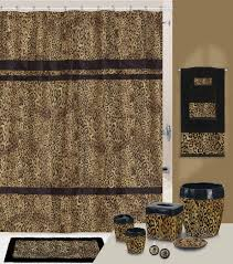 impressive leopard bathroom accessories for good looking animal