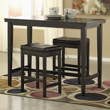Kimonte 3-Piece Counter Table Set With Stools