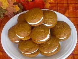 Pumpkin Whoopie Pie Recipe Spice Cake by The Cultural Dish Pumpkin Whoopie Pies