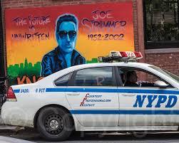 Joe Strummer Mural New York City by Flickr Photos Tagged Thefutureisunwritten Picssr