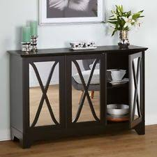 Buffet Table Cabinet Server Furniture Caddy Hutch Breakfast Dining Room Credenza
