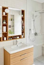 45 genius tips to choose bathroom storage and mirror ideas