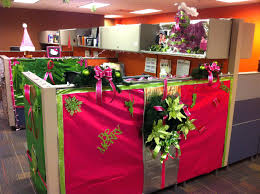 cubicle decorating contest extremely inspiration office christmas