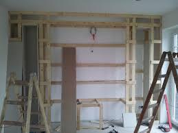 wohnzimmer tv wand rigips caseconrad