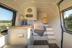 Brilliant Camper Van Conversion Uses Space Saving Boat Design